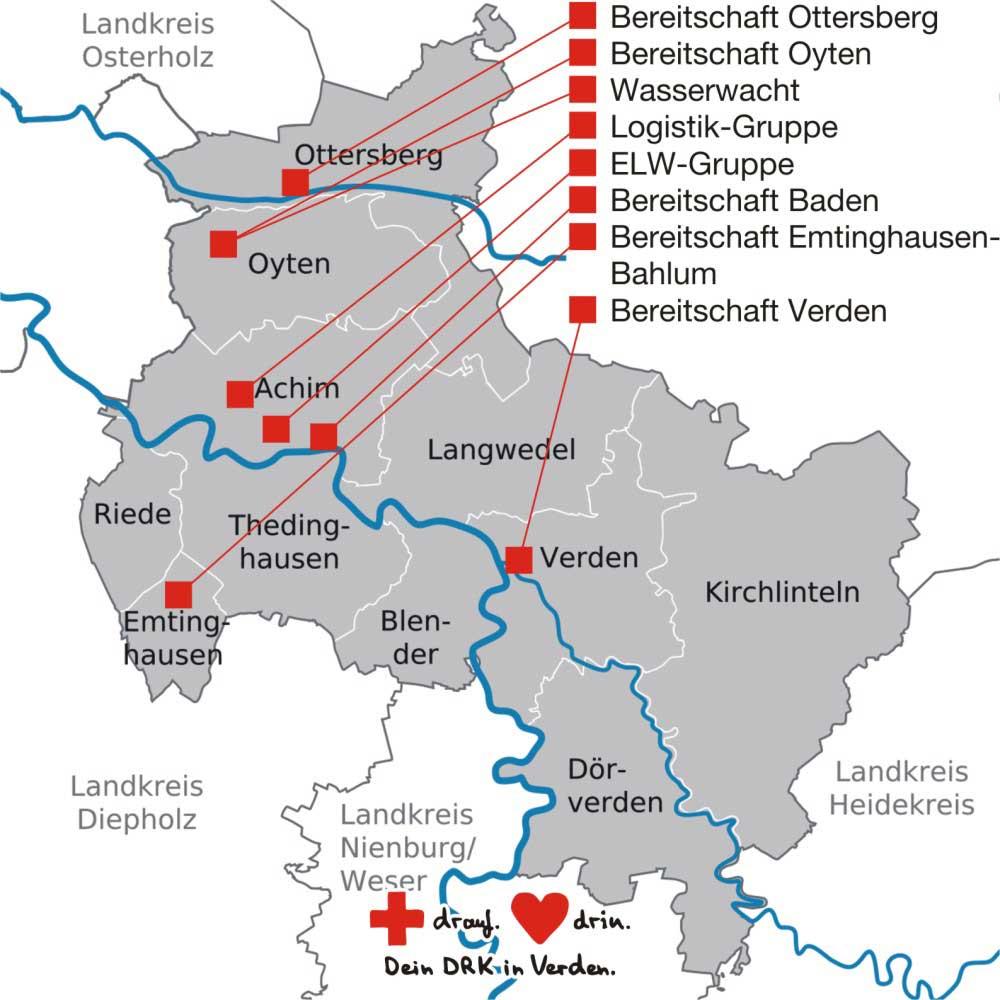 Bereitschaften DRK Verden